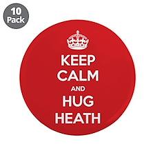 "Hug Heath 3.5"" Button (10 pack)"