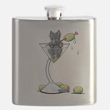 Scottish Martini Flask