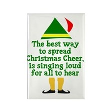 Christmas Cheer Rectangle Magnet