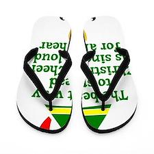 Christmas Cheer Flip Flops