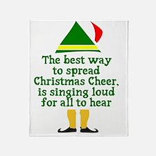 Christmas Cheer Throw Blanket