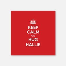 Hug Hallie Sticker