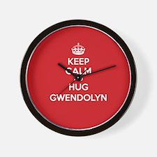 Hug Gwendolyn Wall Clock