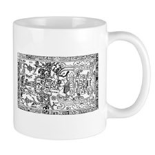 Palenque Ancient Astronaut Ufo Mugs