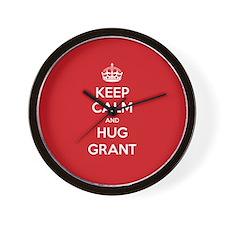 Hug Grant Wall Clock