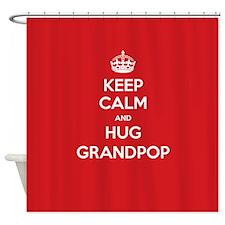 Hug Grandpop Shower Curtain