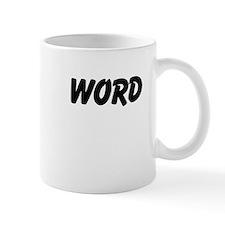 Word Mugs