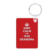 Hug Grandma Keychains