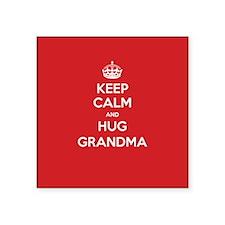 Hug Grandma Sticker