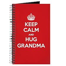 Hug Grandma Journal