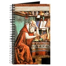 Saint Jerome in his Study Journal