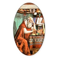 Saint Jerome in his Study Decal
