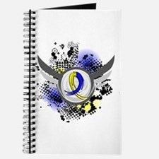 DS Grunge Ribbon Wings Journal