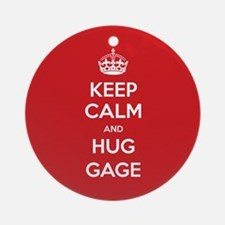Hug Gage Ornament (Round)