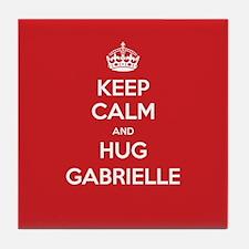Hug Gabrielle Tile Coaster