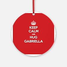 Hug Gabriella Ornament (Round)