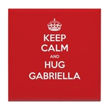 Hug Gabriella Tile Coaster