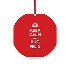 Hug Felix Ornament (Round)