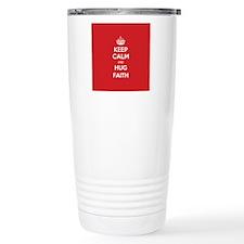 Hug Faith Travel Mug