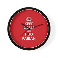 Hug Fabian Wall Clock