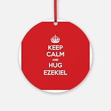 Hug Ezekiel Ornament (Round)