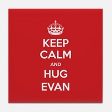 Hug Evan Tile Coaster