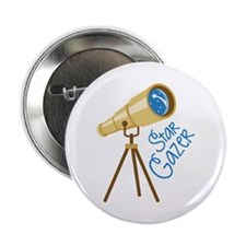 "Star Gazer 2.25"" Button"