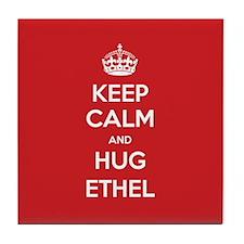 Hug Ethel Tile Coaster