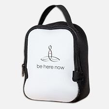 Meditator - Be Here Now - Neoprene Lunch Bag