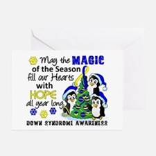 Ds Christmas Penguins Greeting Cards (pk Of 20)
