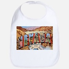 Nevada Greetings Bib