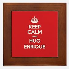 Hug Enrique Framed Tile