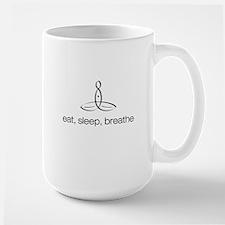 Meditator - Eat, Sleep, Breathe - Mug