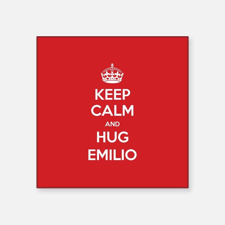 Hug Emilio Sticker