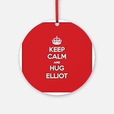 Hug Elliot Ornament (Round)