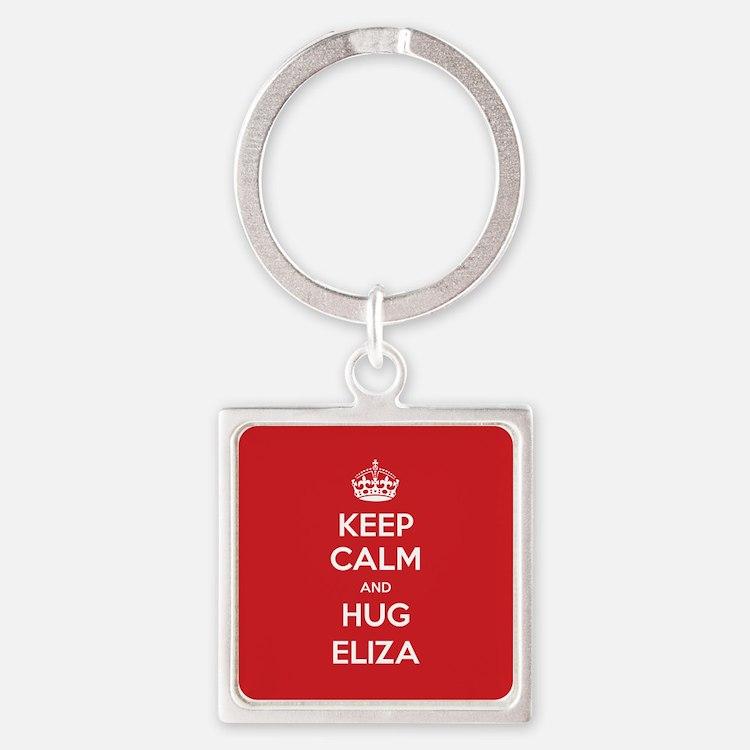 Hug Eliza Keychains