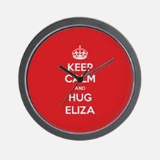 Hug Eliza Wall Clock