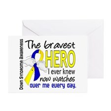 DS Bravest Hero Greeting Cards (Pk of 10)