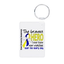 DS Bravest Hero Aluminum Photo Keychain