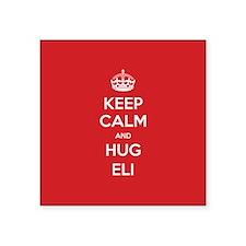 Hug Eli Sticker