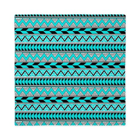 black and white aztec comforter