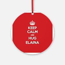 Hug Elaina Ornament (Round)