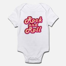 Pink Rock and Roll Infant Bodysuit