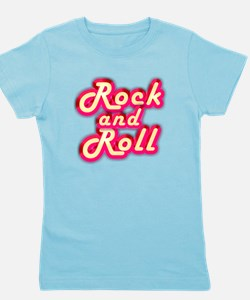 Pink Rock and Roll Girl's Tee