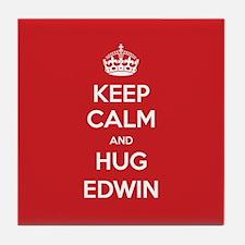 Hug Edwin Tile Coaster