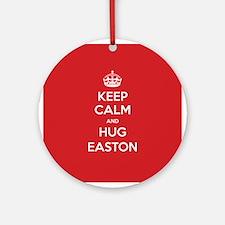Hug Easton Ornament (Round)