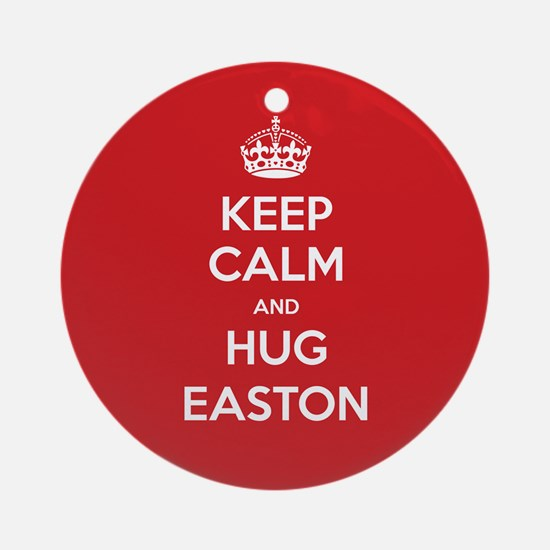 Hug Easton Ornament (Round)