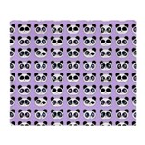 Cute panda Fleece Blankets