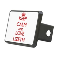 Keep Calm and Love Lizeth Hitch Cover
