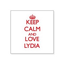 Keep Calm and Love Lydia Sticker